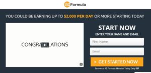 The AZ Formula Review- Can you make $10,000 in a week?
