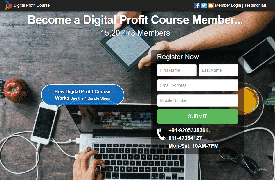 Is Digital Profit Course a Scam